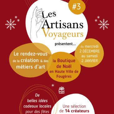 La Boutique de Noël des Artisans Voyageurs